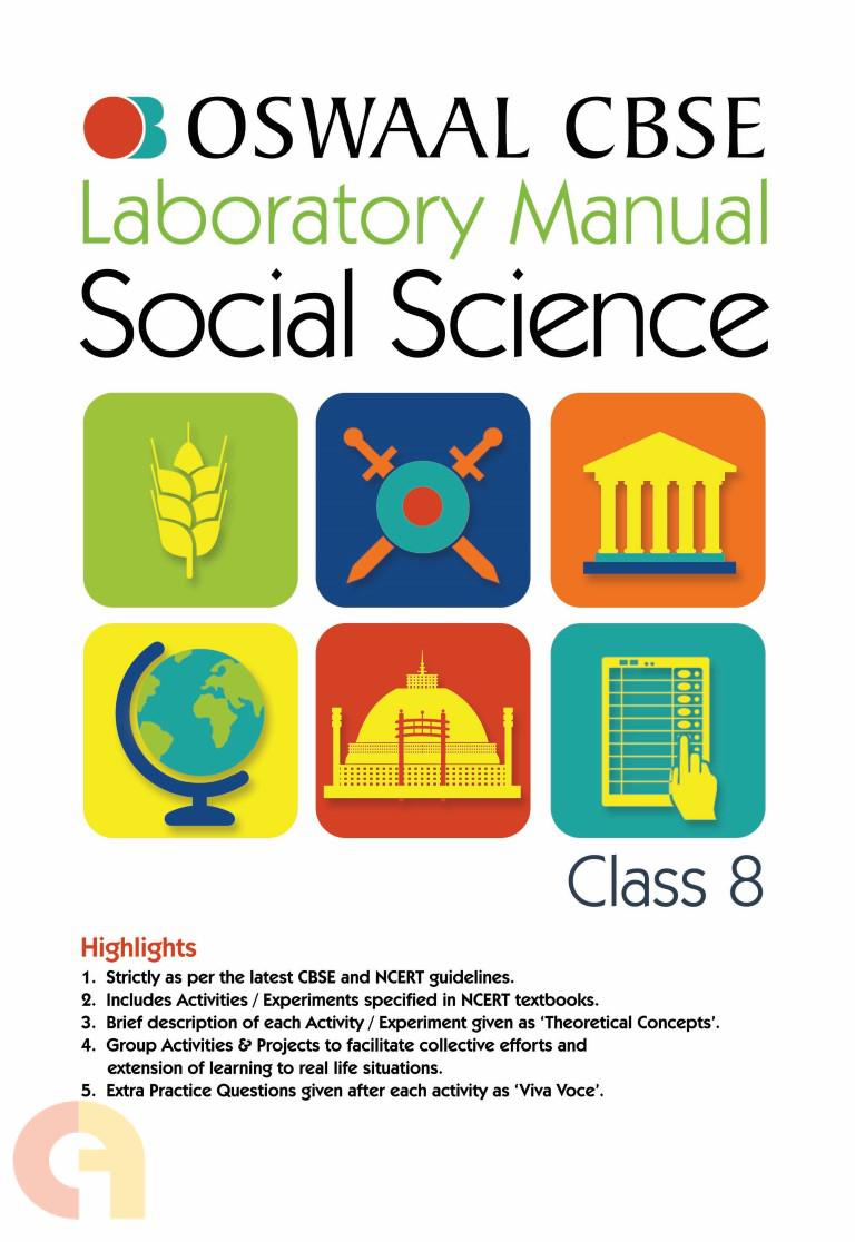 Oswaal CBSE Laboratory Manual Class 8 Social Science Book