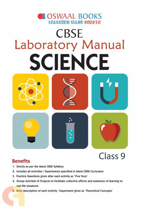 Oswaal CBSE Laboratory Manual Class 9 Science Book