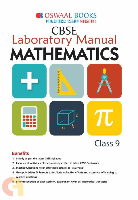 Oswaal CBSE Laboratory Manual Class 9 Mathematics Book