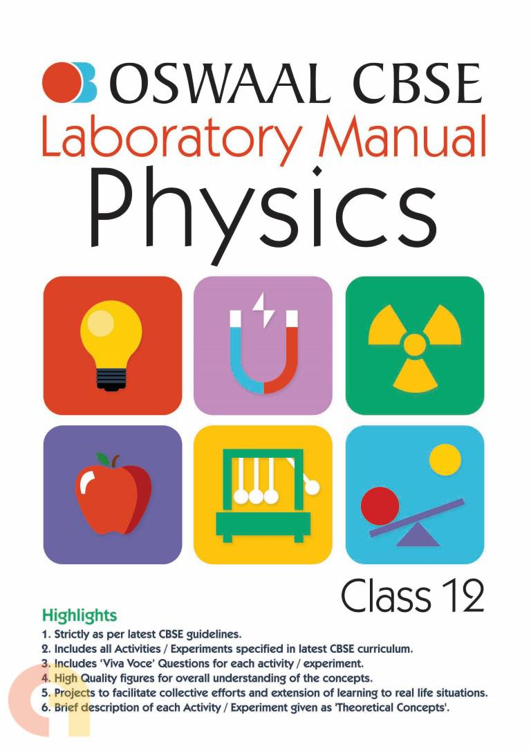 Oswaal CBSE Laboratory Manual Class 12 Physics Book