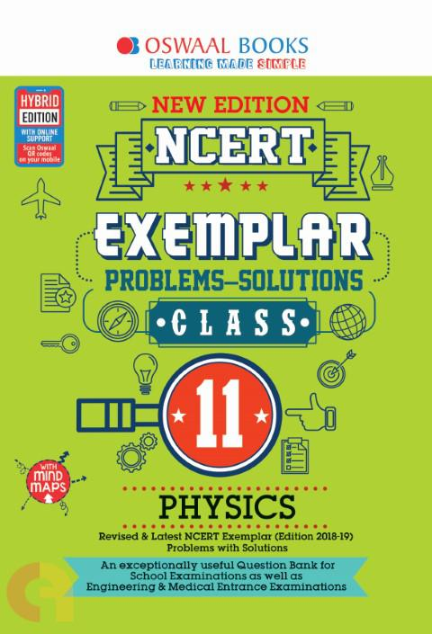 Oswaal NCERT Exemplar (Problems - solutions) Class 11 Physics Book