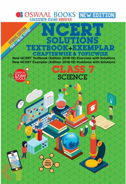 Oswaal NCERT Problems - Solutions (Textbook + Exemplar) Class 7 Science Book