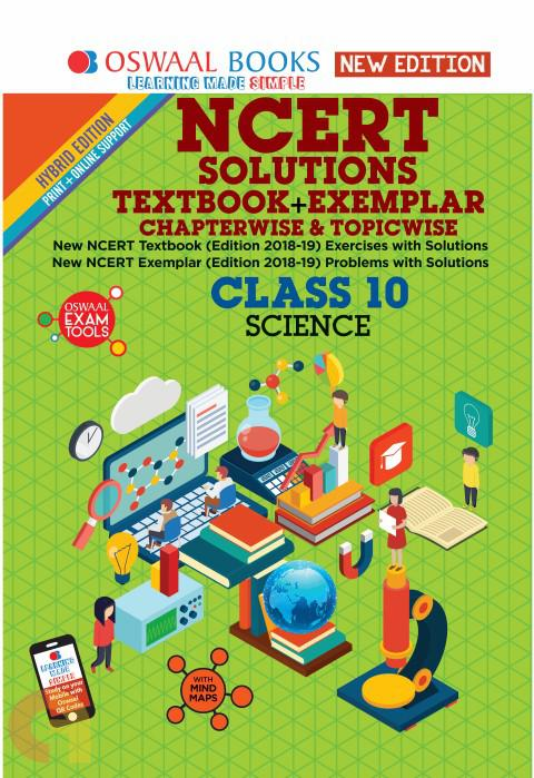 Oswaal NCERT Problems - Solutions (Textbook + Exemplar) Class 10 Science Book
