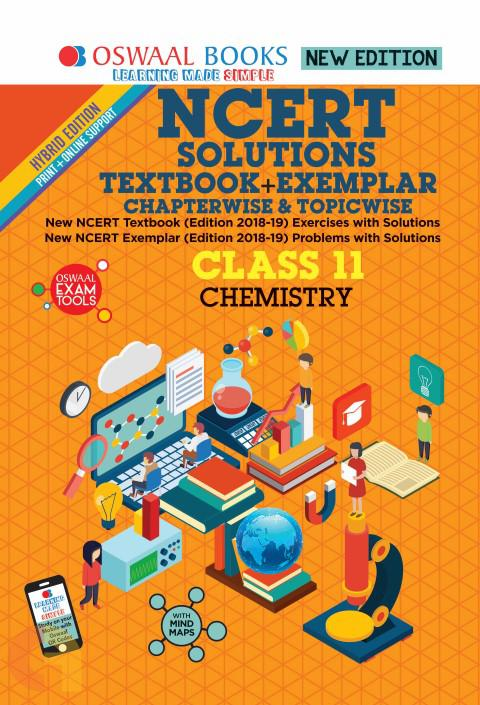 Oswaal NCERT Problems - Solutions (Textbook + Exemplar) Class 11 Chemistry Book