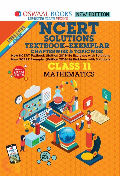 Oswaal NCERT Problems - Solutions (Textbook + Exemplar) Class 11 Mathematics Book
