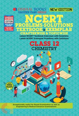 Oswaal NCERT Problems - Solutions (Textbook + Exemplar) Class 12 Chemistry Book