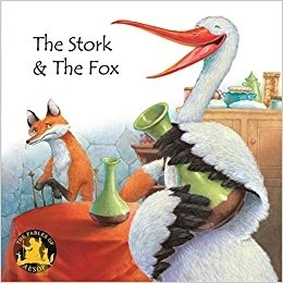 Aesop Fables- English Edition: The Stork and the Fox
