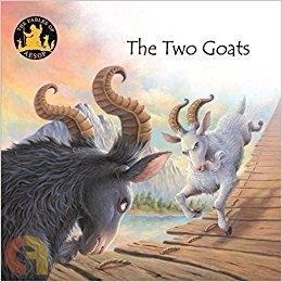 Aesop Fables- English Edition: The two goats