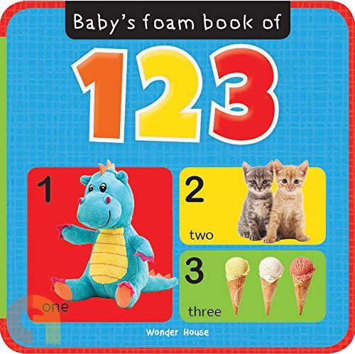 Baby's Foam book of 123