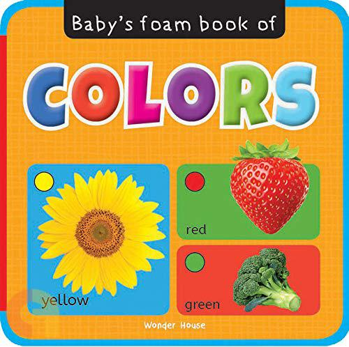 Baby's Foam book of Colors