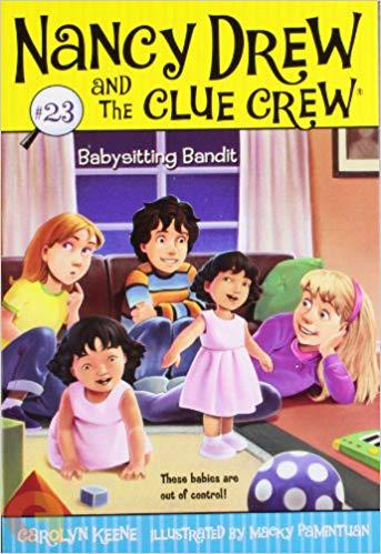 Babysitting Bandit (23) (Nancy Drew and the Clue Crew)