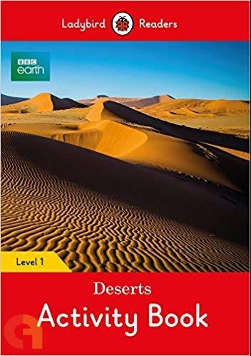 BBC Earth: Deserts Activity Book: Level 1