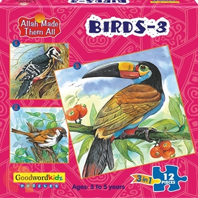 Birds 3 - Box of Three Puzzles