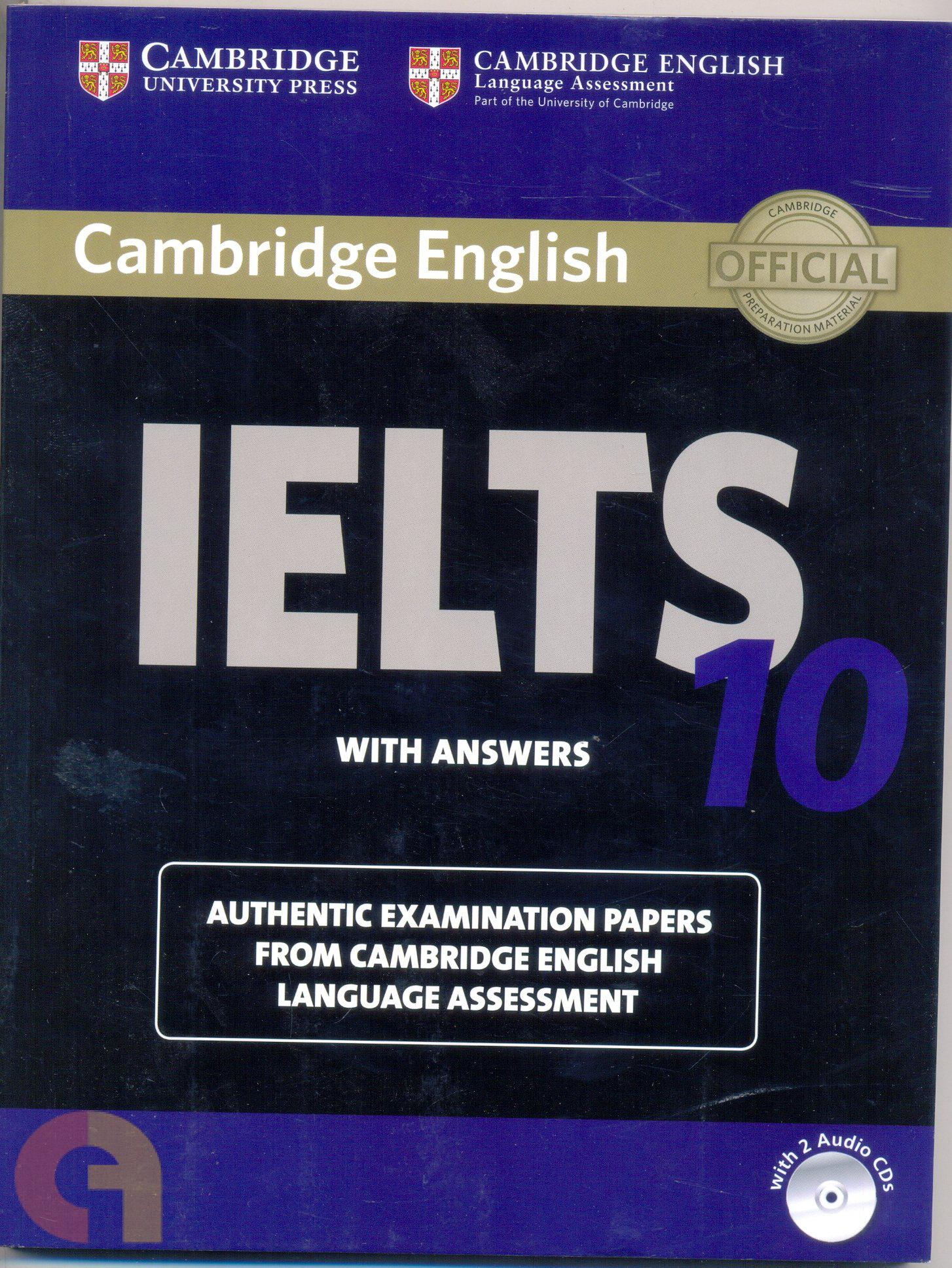 Cambridge IELTS 10 : Students Book with answers & 2 A CDs