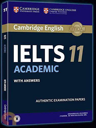 Cambridge IELTS 11 : Academic with Answers (With A CD)