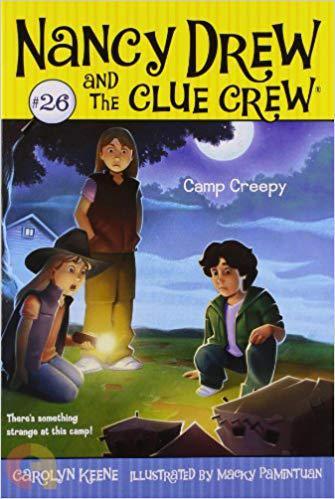Camp Creepy (26) (Nancy Drew and the Clue Crew)