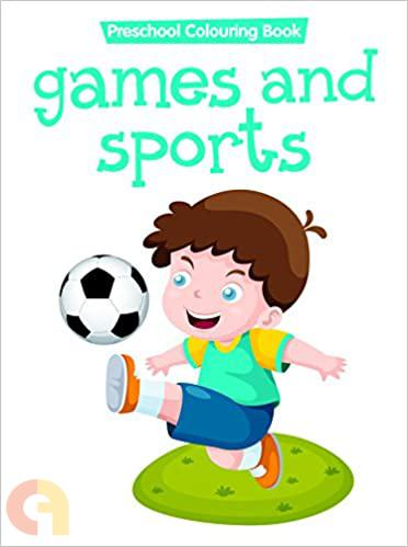 COLOURING BOOK-GAMES & SPORTS