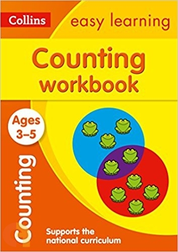 Counting Workbook Ages 3-5: Collins Easy Learning