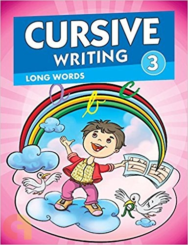 Cursive Writing 3 - Long Words