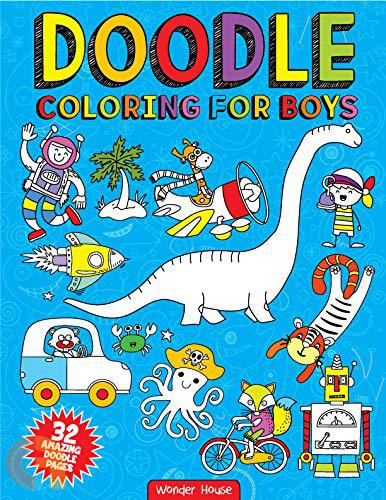 Doodle: Colouring for Boys
