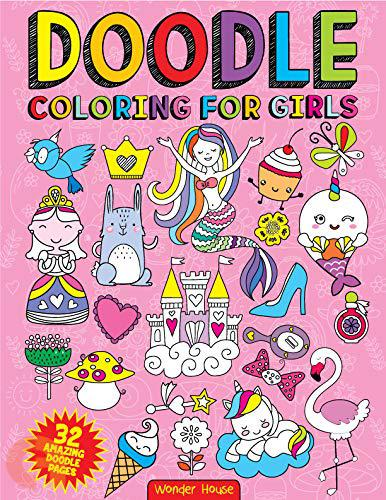 Doodle: Colouring for Girls