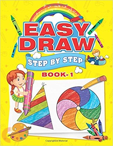 Easy Draw: (Step by Step - Book 1)