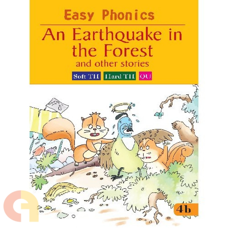 Easy Phonics: An Earthquake in the Forest and the other stories