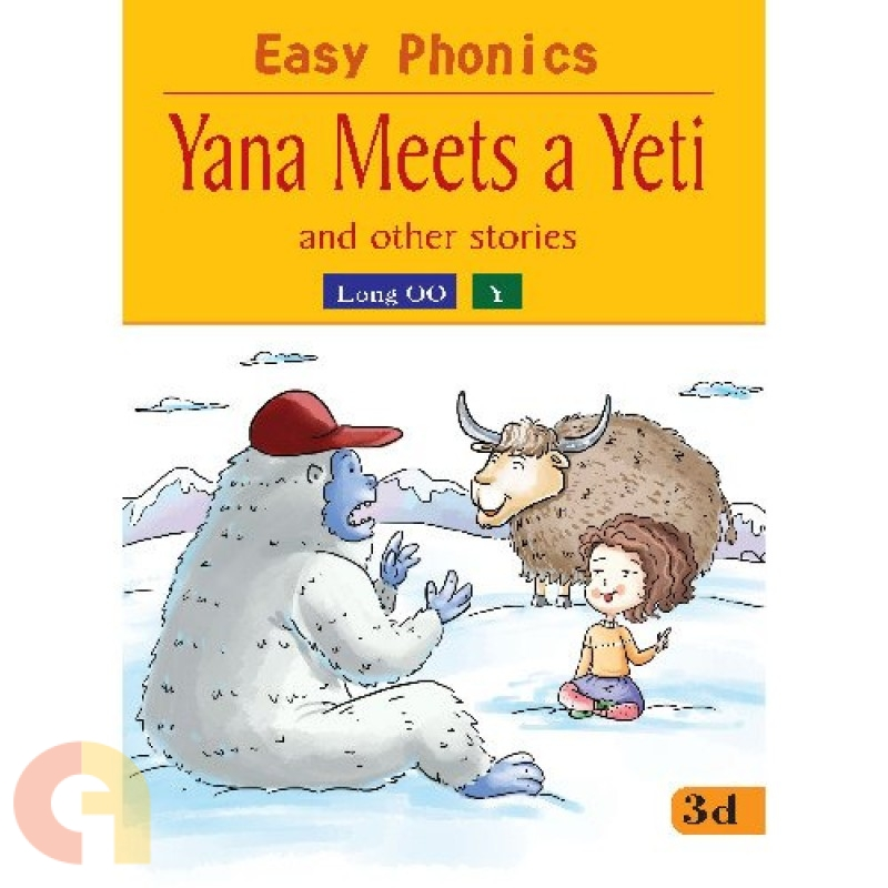 Easy Phonics: Yana Meets a Yeti and the other stories