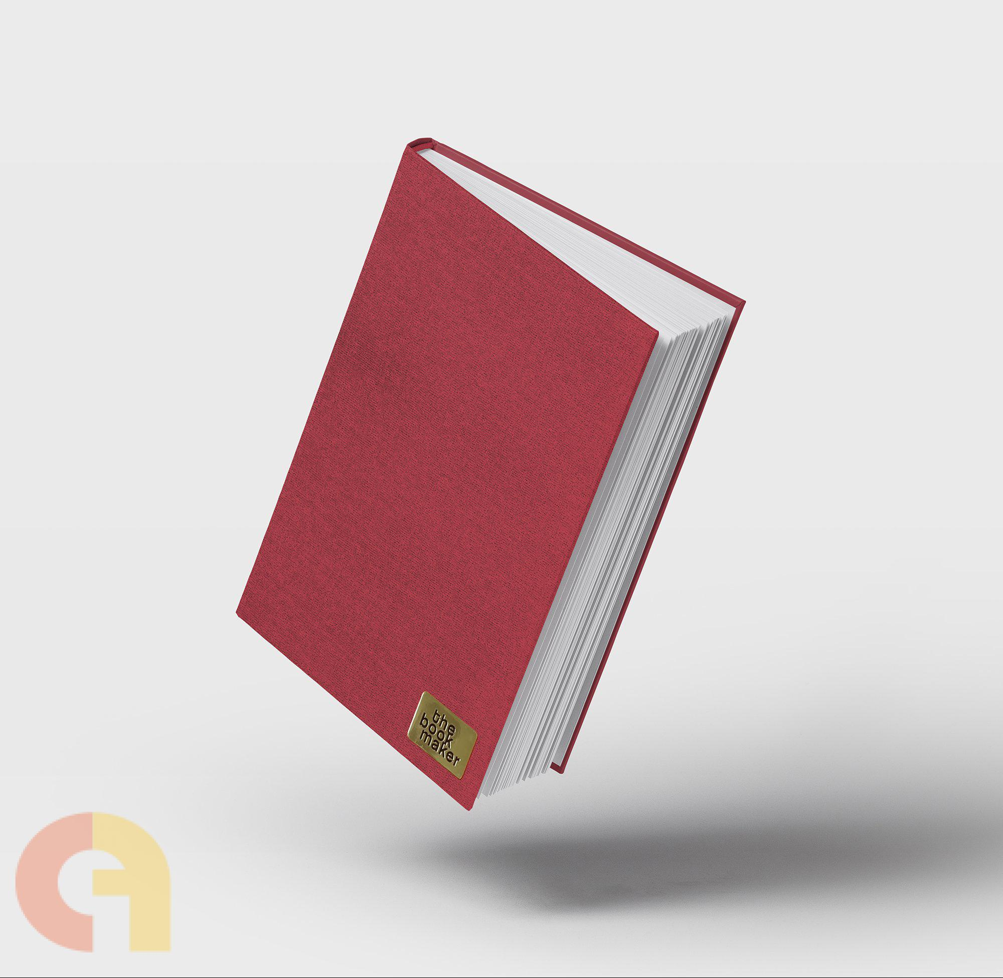 Fabric Collection: Ruby (Dotted Bullet Journal; Hard bound; 160 pages - A5)