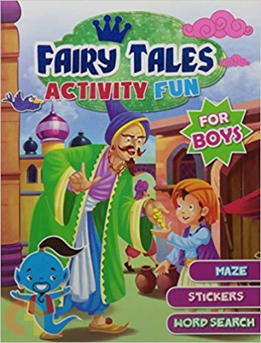 Fairy Tales Activity Fun (For Boys)
