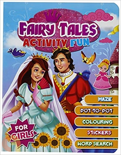 Fairy Tales Activity Fun (For Girls)
