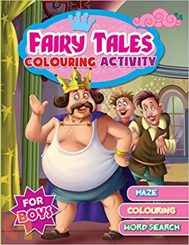 Fairy Tales Colouring Activity (For Boys)