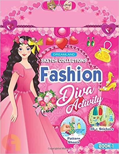 Fashion Diva Activity : Book 1