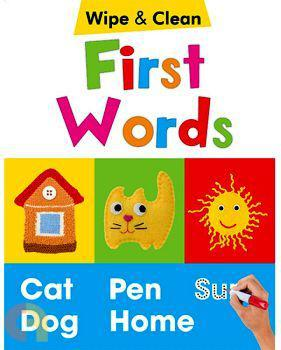 First Words - Wipe & Clean