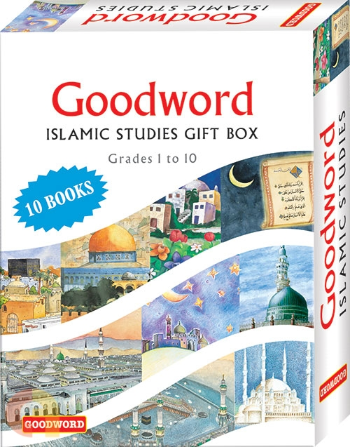 Goodword Islamic Studies Gift Box (Ten books) (Art Paper)
