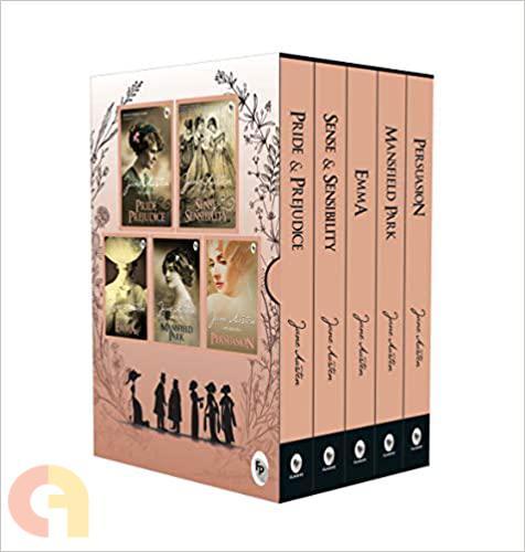 Greatest Works of Jane Austen (Set of 5 Books)