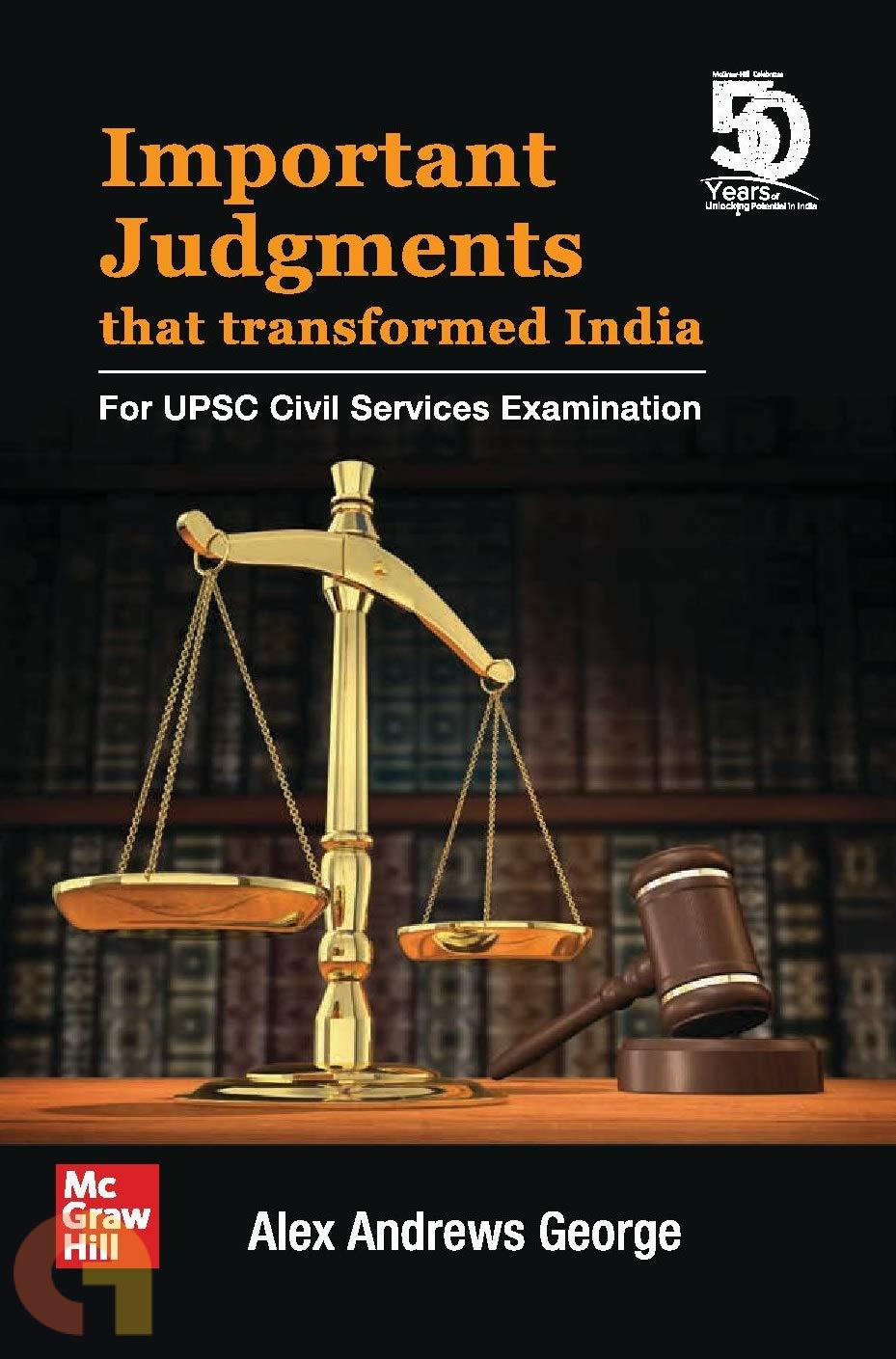 Important Judgments that Transformed India