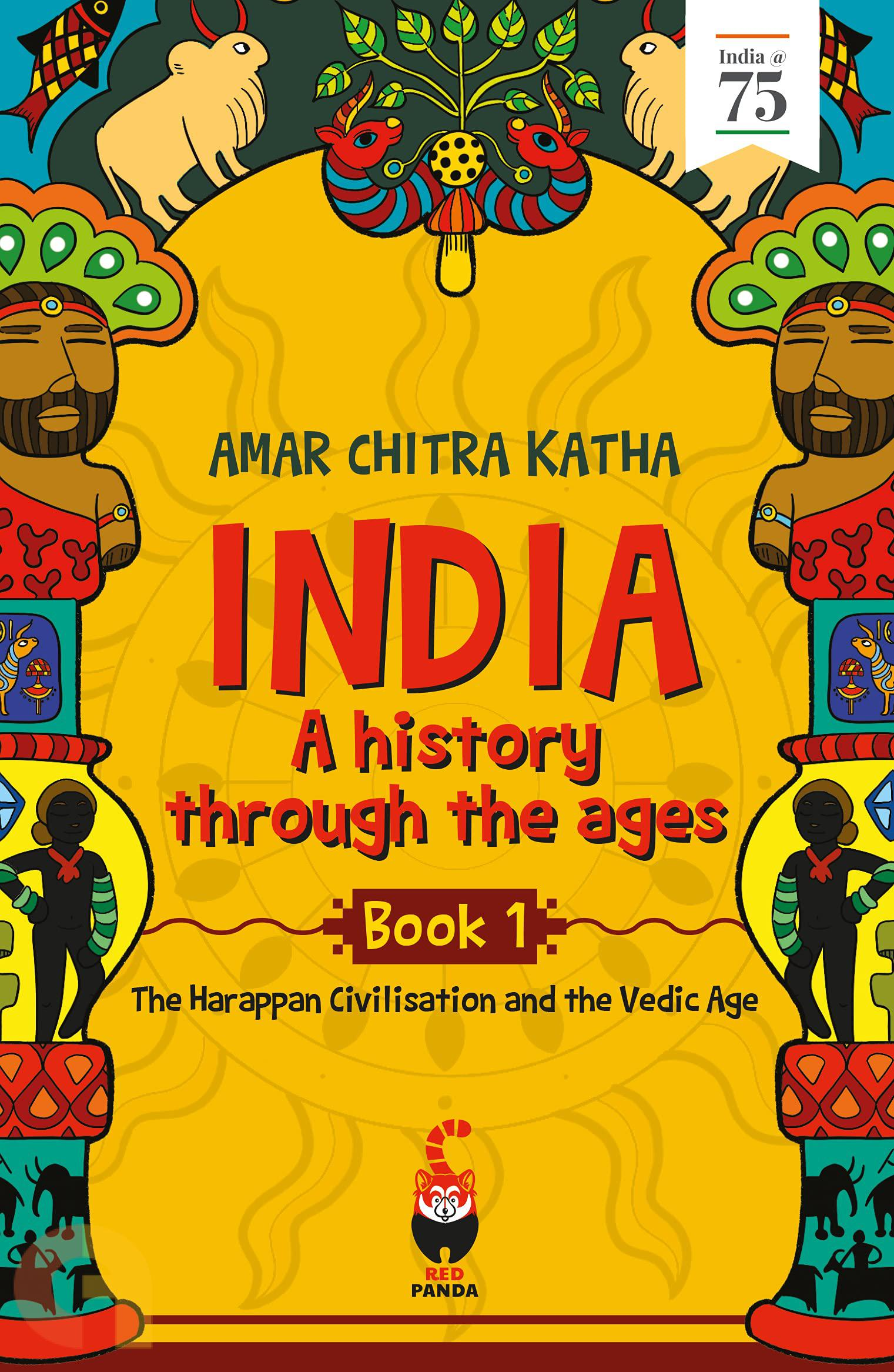 India: A History Through the Ages (Book 1)