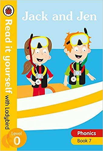Jack and Jen – Read it yourself with Ladybird - Level 0 (Phonics - Book 7)