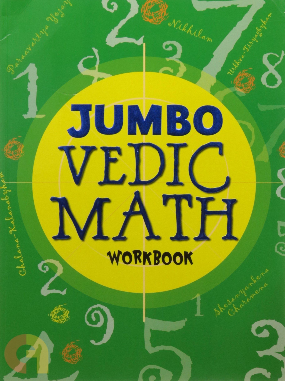 Jumbo Vedic Math workbook