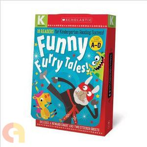 Kindergarten A-D Reader Box Set - Funny Furry Tales (Scholastic Early Learners)