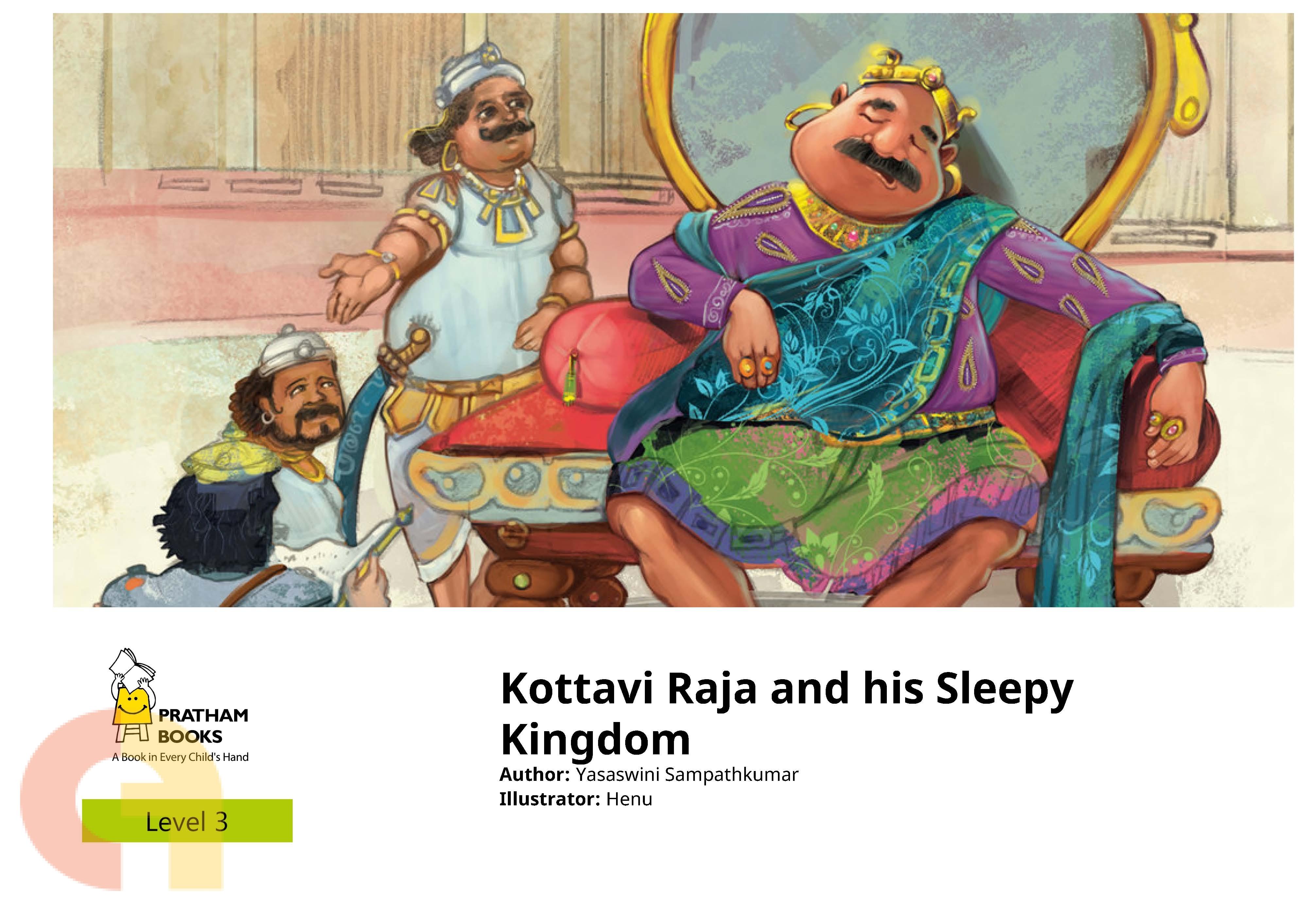 Kottavi Raja and his Sleepy Kingdom - Level 3 - Pratham