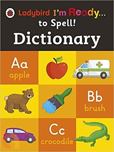 Ladybird I'm Ready To Spell Dictionary