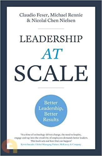 Leadership At Scale: Developing more and better leaders