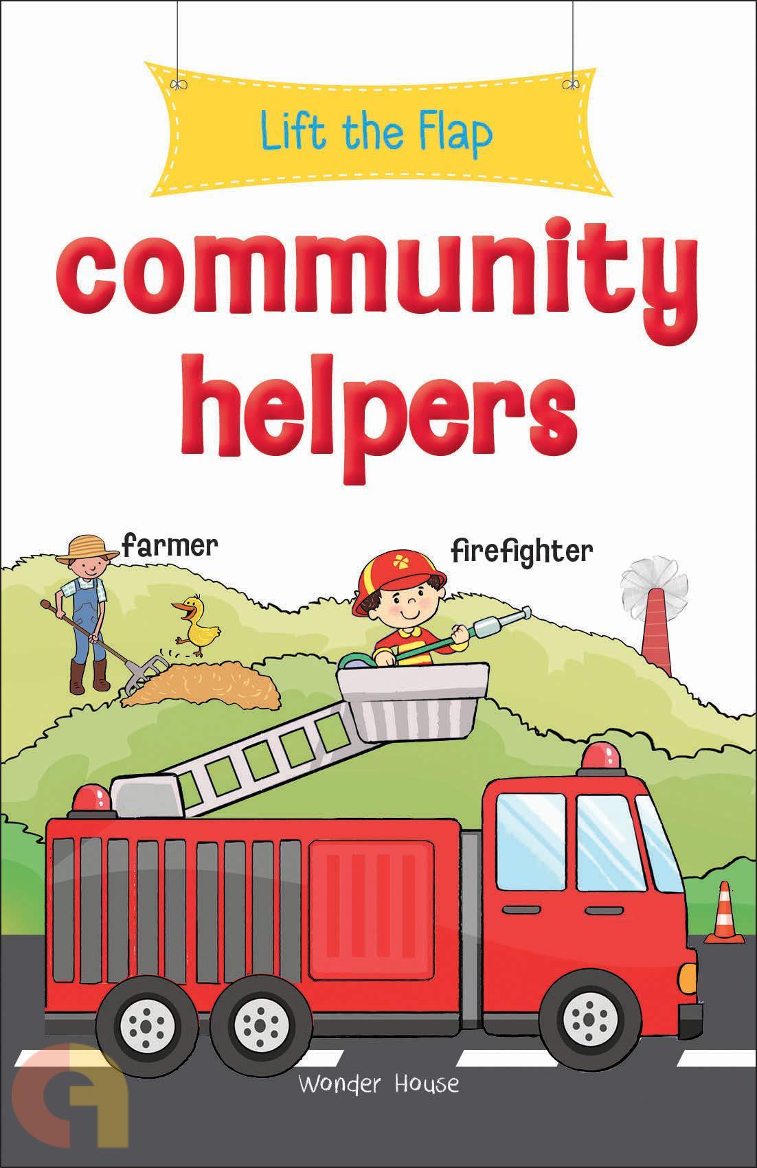 Lift the Flap: Community Helpers