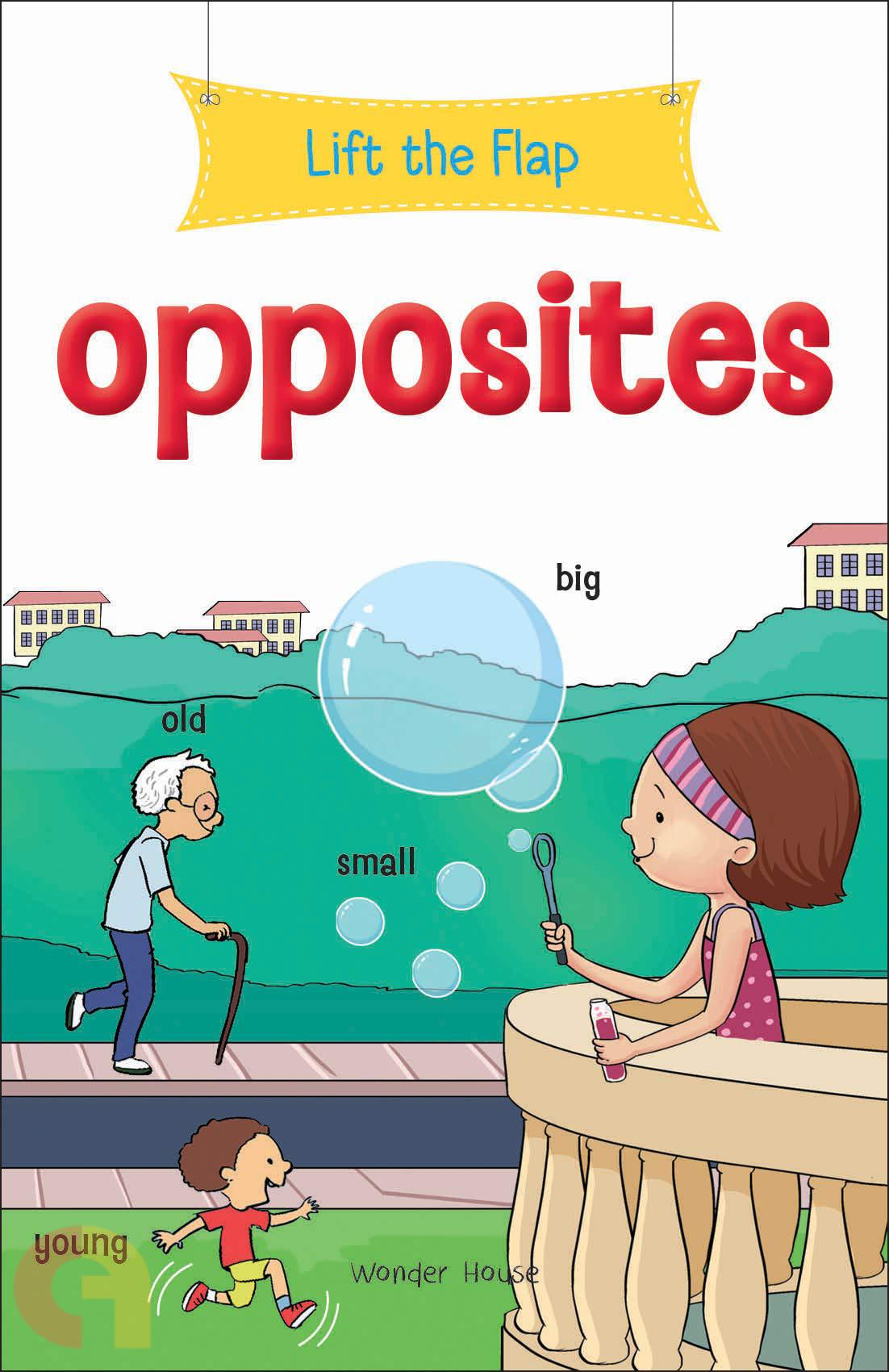 Lift the Flap: Opposites
