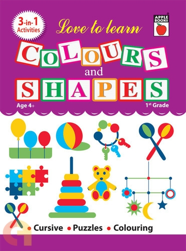 Love To Learn - Colours & Shapes