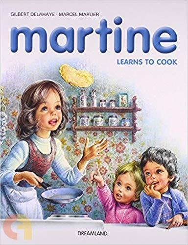 Martine Learns to cook