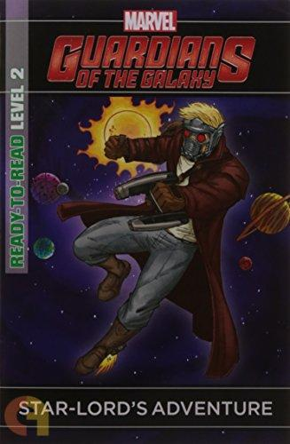 Marvel Guardians Of The Galaxy: Star-Lord's Adventure - Level 2 Reader
