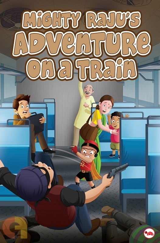 Mighty Raju's Adventure on a Train